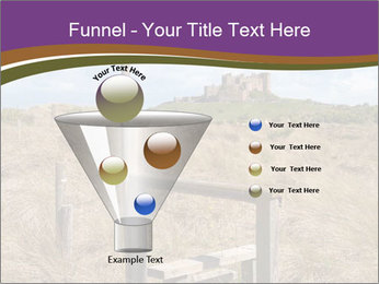 Castle among of  fields PowerPoint Templates - Slide 63