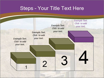 Castle among of  fields PowerPoint Templates - Slide 64
