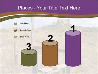 Castle among of  fields PowerPoint Templates - Slide 65