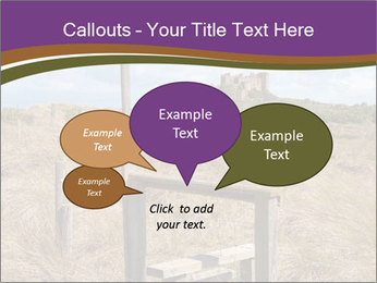 Castle among of  fields PowerPoint Templates - Slide 73