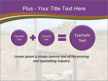 Castle among of  fields PowerPoint Templates - Slide 75