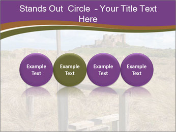 Castle among of  fields PowerPoint Templates - Slide 76