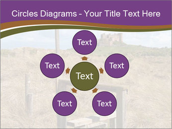 Castle among of  fields PowerPoint Templates - Slide 78