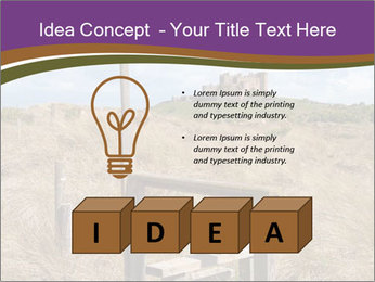Castle among of  fields PowerPoint Templates - Slide 80