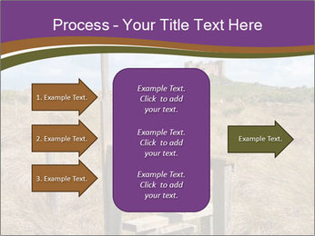 Castle among of  fields PowerPoint Templates - Slide 85