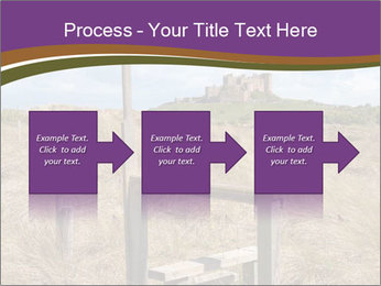 Castle among of  fields PowerPoint Templates - Slide 88