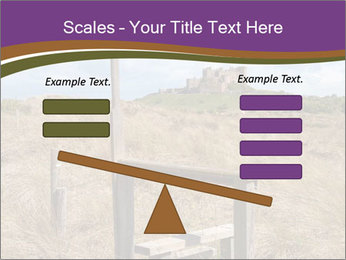 Castle among of  fields PowerPoint Templates - Slide 89