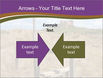 Castle among of  fields PowerPoint Templates - Slide 90