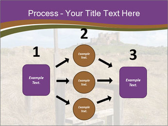 Castle among of  fields PowerPoint Templates - Slide 92