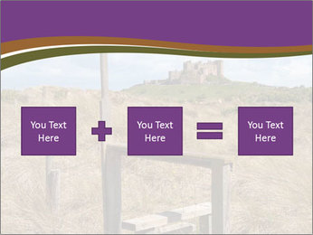 Castle among of  fields PowerPoint Templates - Slide 95