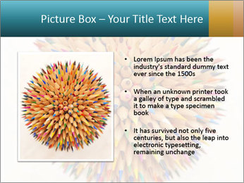 Hedgehog out of pencils PowerPoint Templates - Slide 13