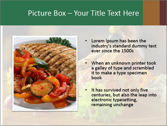 Grilled chicken PowerPoint Template - Slide 13