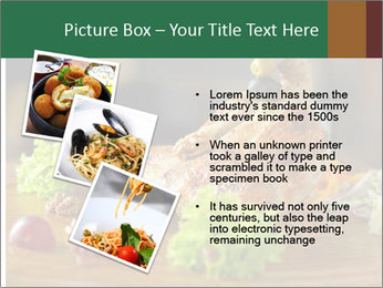 Grilled chicken PowerPoint Template - Slide 17