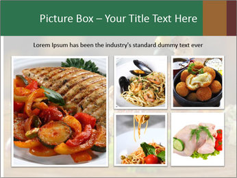 Grilled chicken PowerPoint Template - Slide 19
