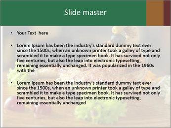 Grilled chicken PowerPoint Template - Slide 2
