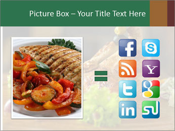 Grilled chicken PowerPoint Template - Slide 21