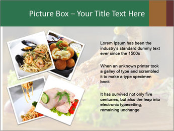 Grilled chicken PowerPoint Template - Slide 23