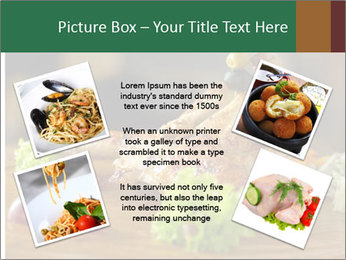 Grilled chicken PowerPoint Template - Slide 24
