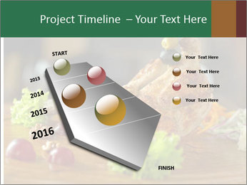 Grilled chicken PowerPoint Templates - Slide 26