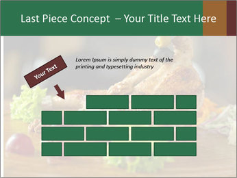 Grilled chicken PowerPoint Template - Slide 46