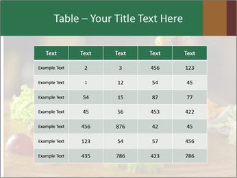 Grilled chicken PowerPoint Template - Slide 55
