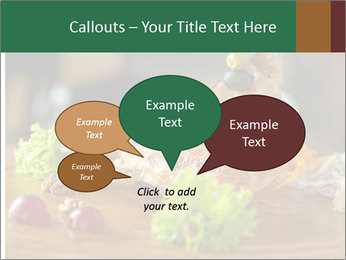 Grilled chicken PowerPoint Templates - Slide 73