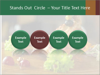 Grilled chicken PowerPoint Template - Slide 76