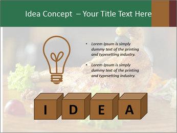 Grilled chicken PowerPoint Template - Slide 80