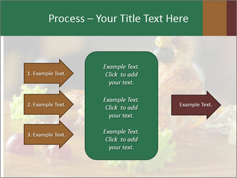 Grilled chicken PowerPoint Template - Slide 85