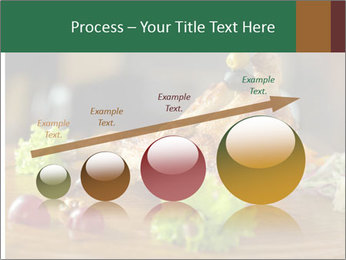 Grilled chicken PowerPoint Template - Slide 87