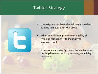 Grilled chicken PowerPoint Template - Slide 9