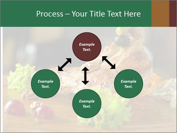 Grilled chicken PowerPoint Template - Slide 91