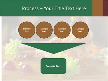 Grilled chicken PowerPoint Template - Slide 93