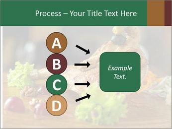 Grilled chicken PowerPoint Template - Slide 94