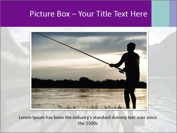 Silhouette of man PowerPoint Template - Slide 15