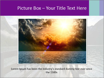 Silhouette of man PowerPoint Template - Slide 16