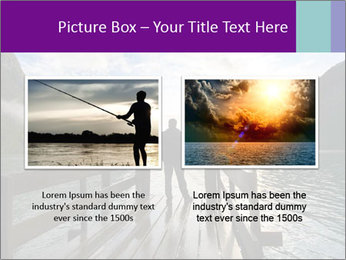 Silhouette of man PowerPoint Template - Slide 18