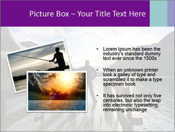 Silhouette of man PowerPoint Template - Slide 20