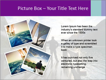 Silhouette of man PowerPoint Template - Slide 23