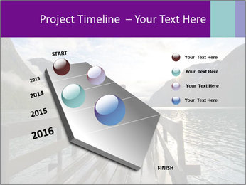 Silhouette of man PowerPoint Template - Slide 26