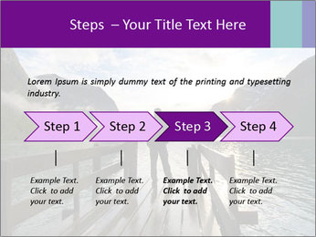 Silhouette of man PowerPoint Template - Slide 4