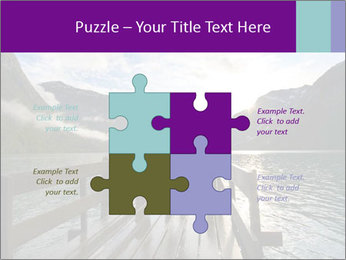 Silhouette of man PowerPoint Template - Slide 43