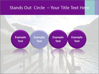 Silhouette of man PowerPoint Template - Slide 76