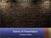 Old interior PowerPoint Template