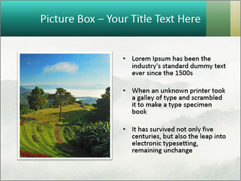 Mountain valley PowerPoint Templates - Slide 13