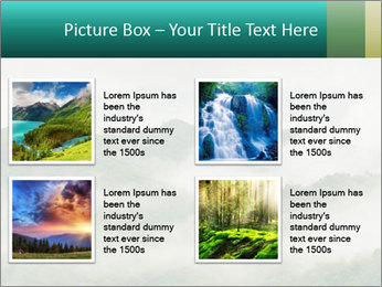 Mountain valley PowerPoint Templates - Slide 14