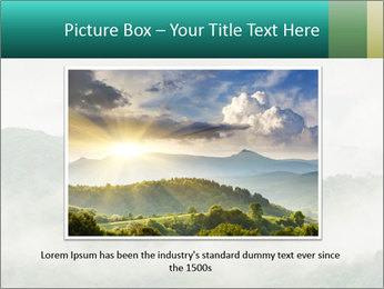 Mountain valley PowerPoint Templates - Slide 15