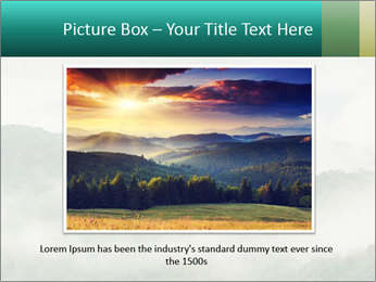 Mountain valley PowerPoint Templates - Slide 16