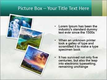 Mountain valley PowerPoint Templates - Slide 17