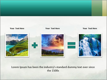 Mountain valley PowerPoint Templates - Slide 22